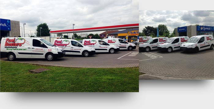 Part of our nationwide fleet